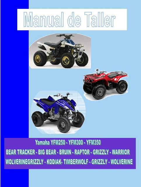 manual de taller  servicio y despiece yfm250 bear tracker Yamaha Raptor Parts and Accessories Yamaha Banshee 350