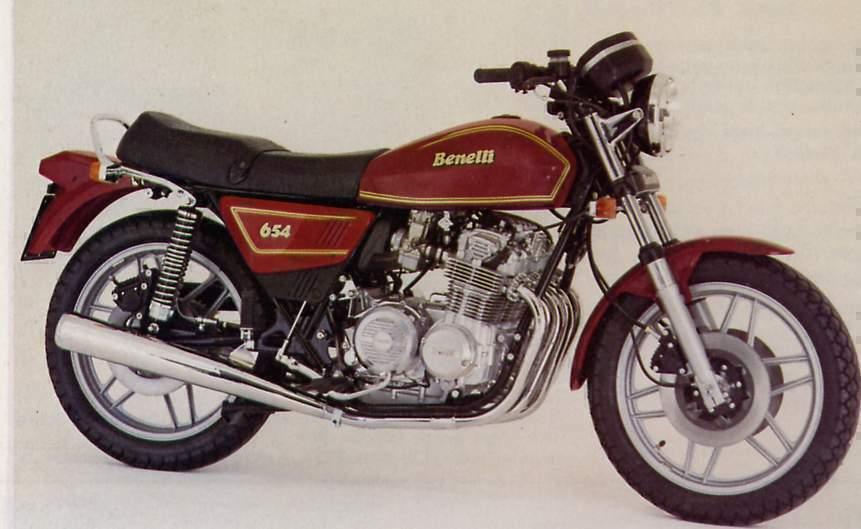Benelli 654 manual taller