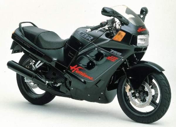 Honda CBR 750 F Hurricane (Super Aero) manual taller - mantenimiento - despiece en pdf