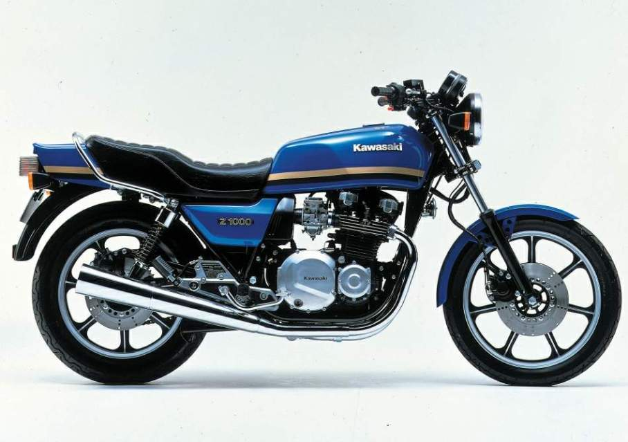 Kawasaki Z 1000 J manual taller