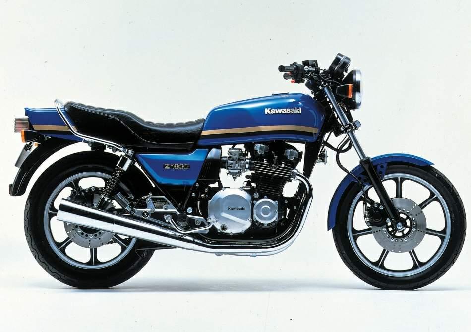 Kawasaki Z 1000 J manual taller