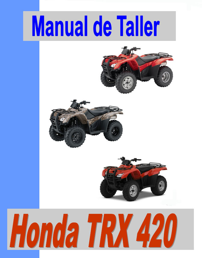 Honda trx 420 manual taller