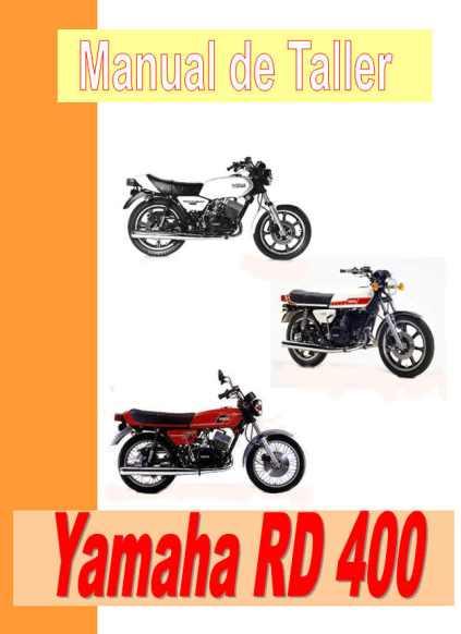 yamaha rd 400 manual taller