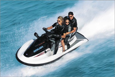 Moto Agua Polaris Genesis manual taller