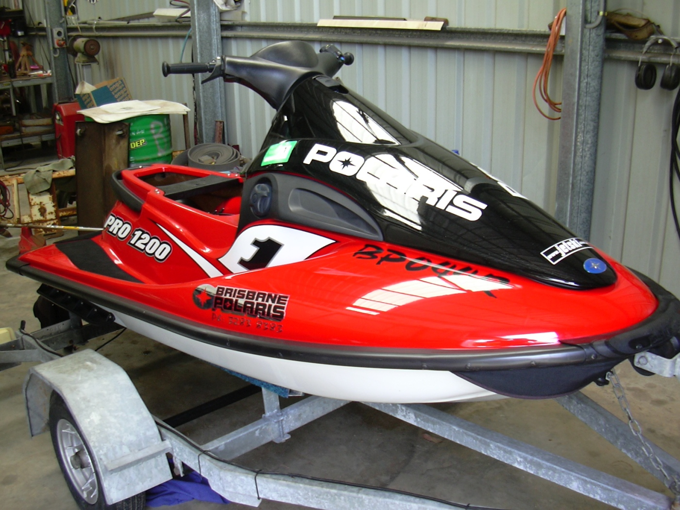 Manuales Taller - mecanica - despiece Jet Ski Polaris-motos de Agua Polaris en pdf