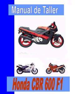 manual de taller, servicio,datos generales de mantenimiento y puesta a punto Honda CBR 600 F1