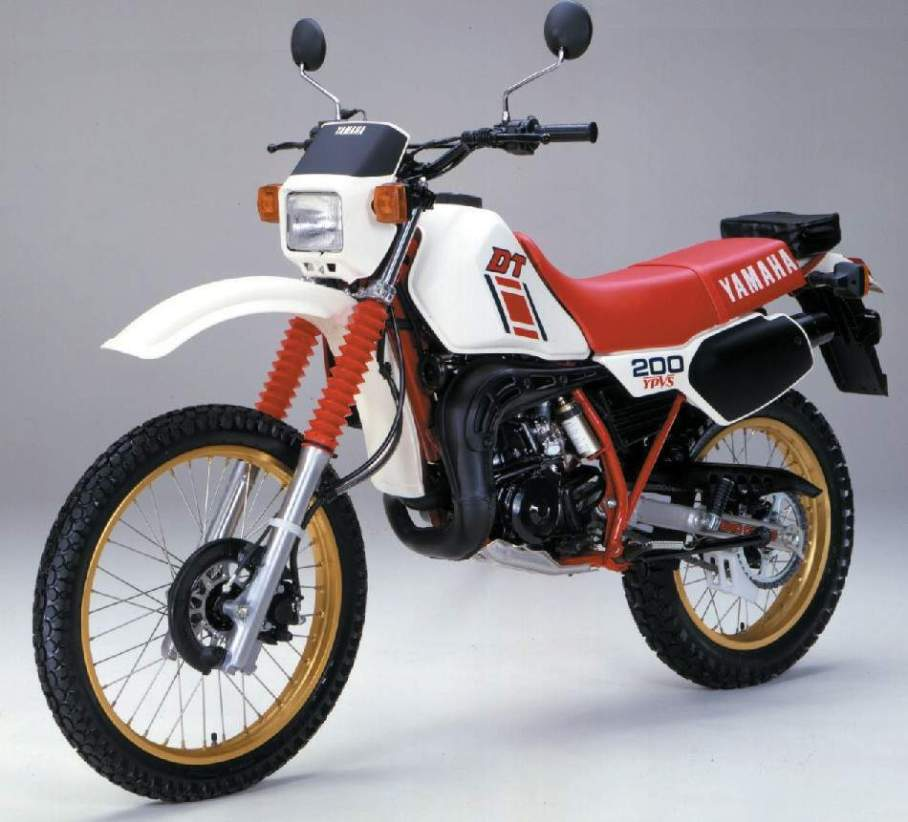 Yamaha DT 200 manual taller