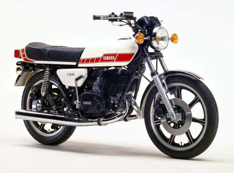 Yamaha RD 400F 79