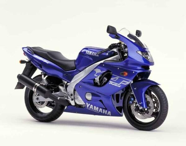yamaha yzf 600 manual taller