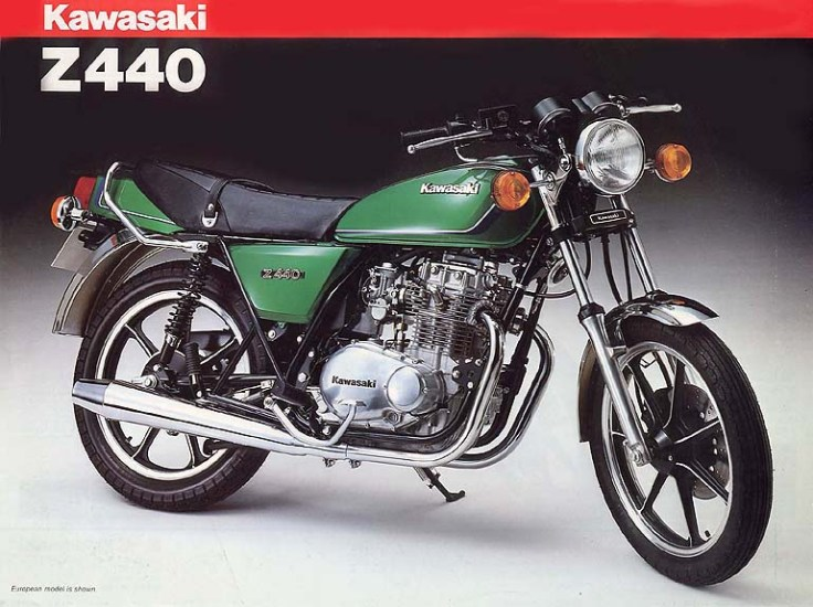 kawasaki Z440 taller manual