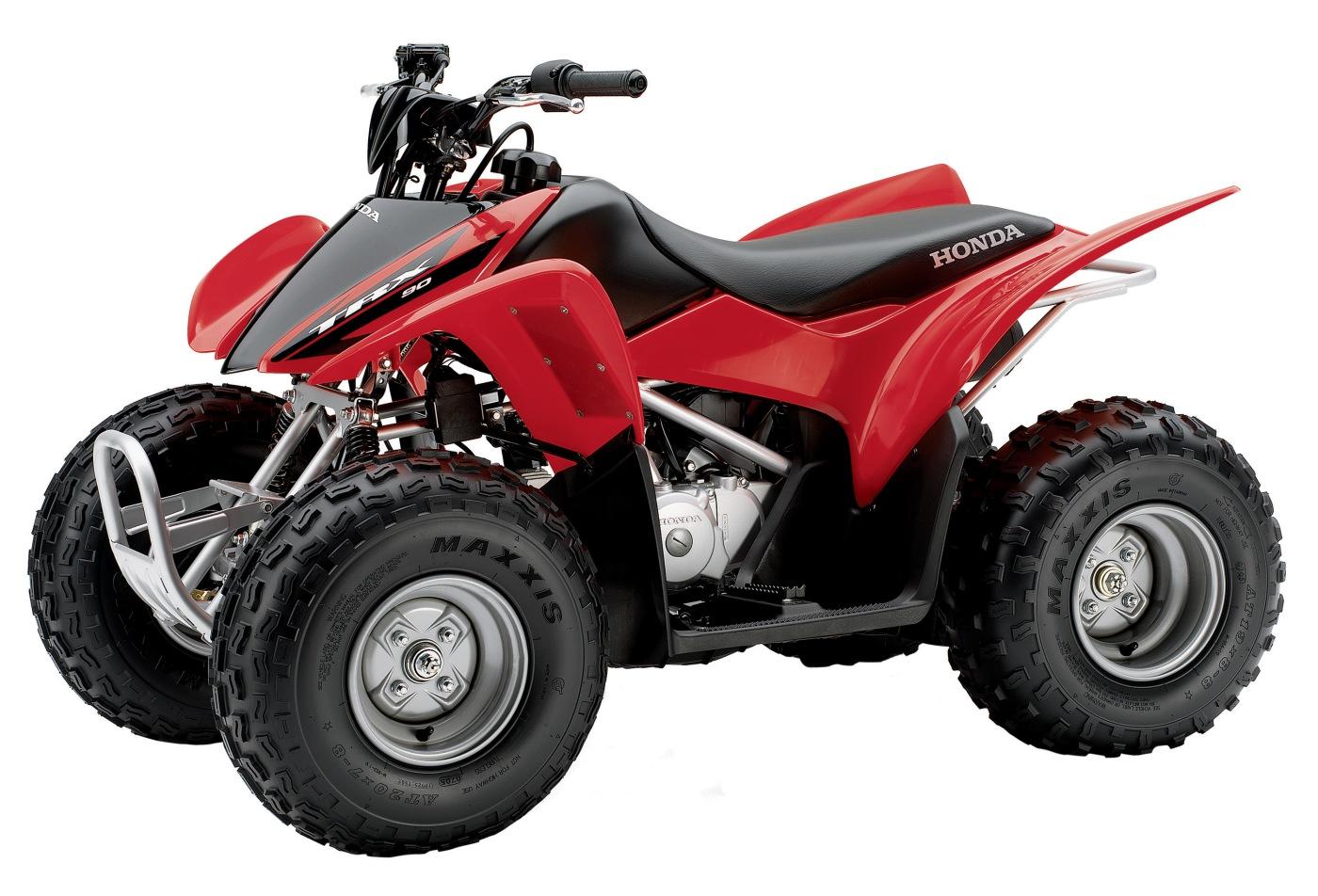 cuatriciclo Honda TRX 70 - Honda TRX 90 - Honda TRX 125 manual taller - mantenimiento - despiece en pdf