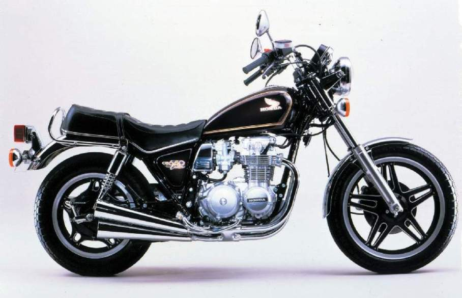 Honda CB 650 Custom manual de taller