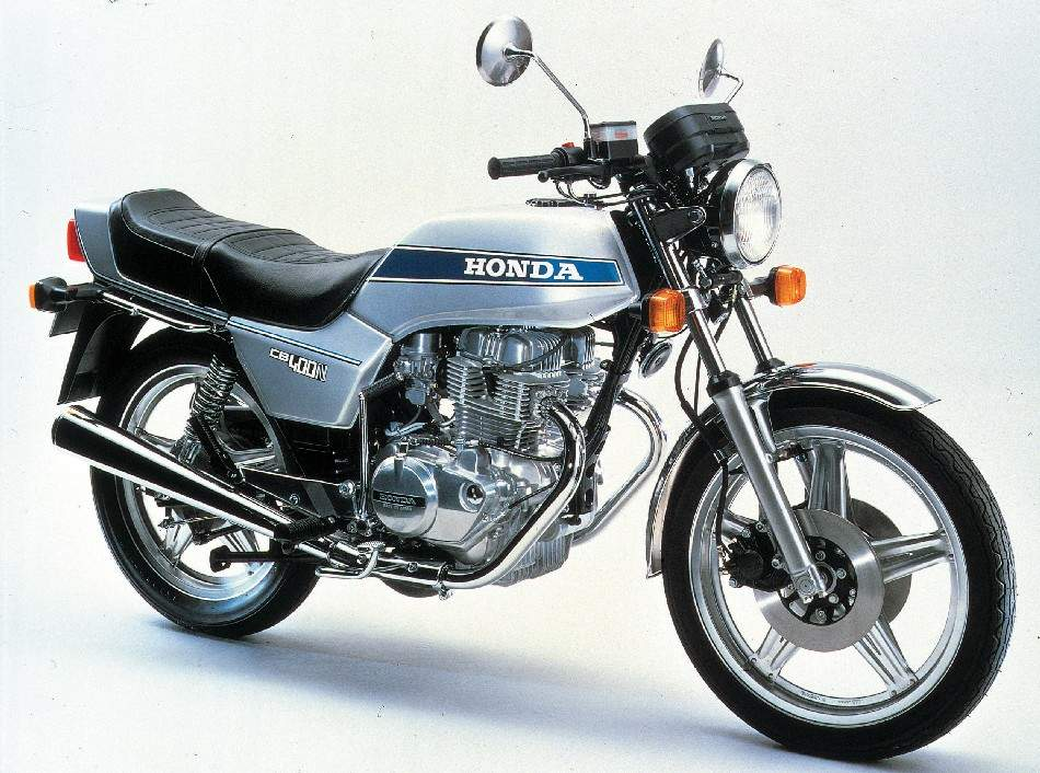 Honda CB 400N - Honda CB 250 N manual taller - mantenimiento - despiece en pdf