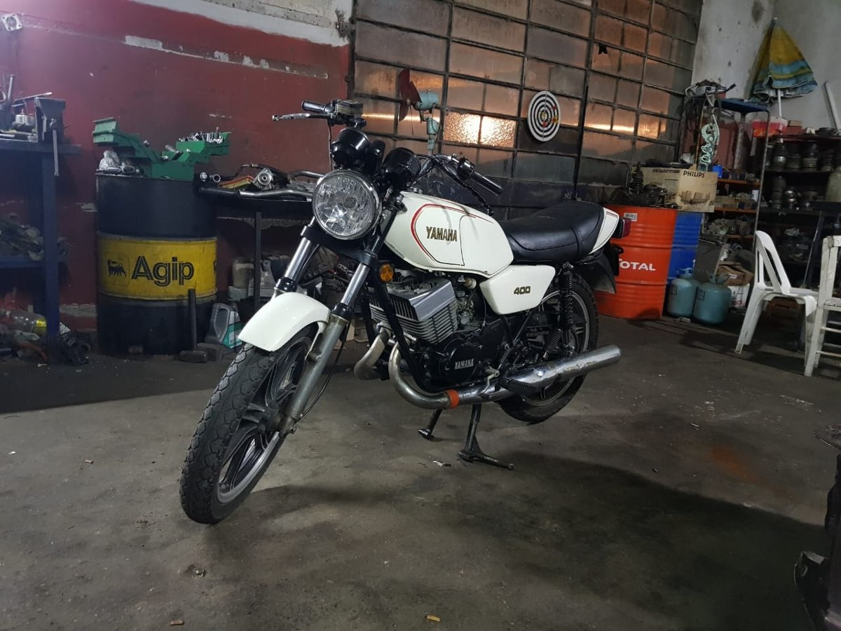 Yamaha RD 400 manual taller – mantenimiento – despiece en pdf