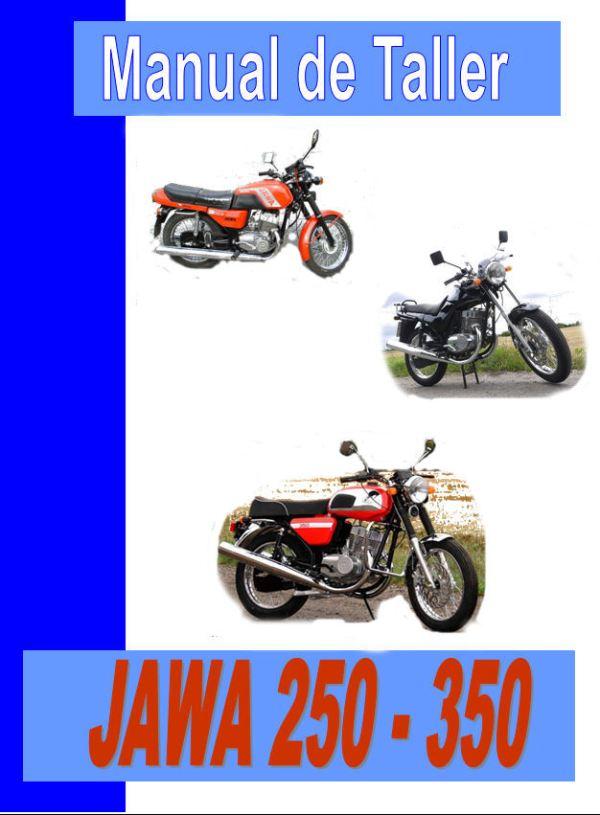 Jawa 350 manual taller - mantenimiento - despiece en pdf