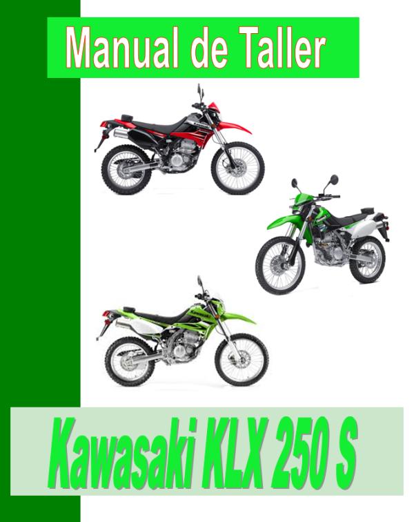 Kawasaki KLX 250 S manual taller - despiece