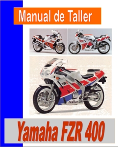 manual taller yamaha fzr 400