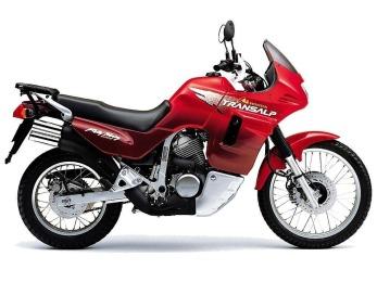 Honda Transalp XL600V manual taller - despiece en pdf