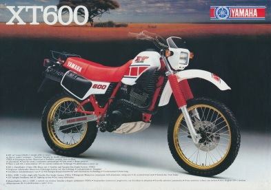 Yamaha XT600 84