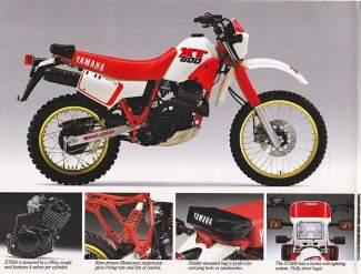 Yamaha XT600 87
