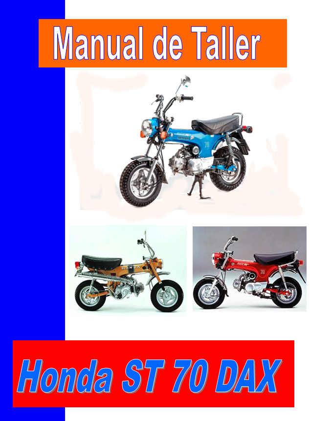 manual taller Honda ST 70 Dax , Honda CT 70
