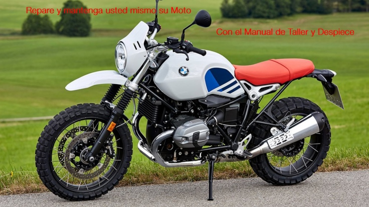 Manual taller mecanica y despiece BMW R nineT