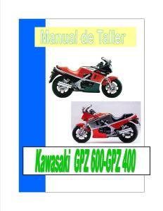 Kawasaki-GPZ-400-GPZ-600-manual-Reparación-y-Servicio