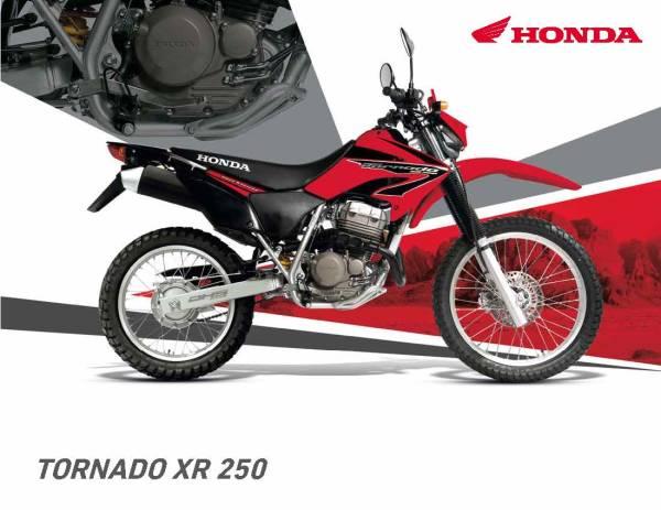 Honda XR 250 Tornado puesta a punto y mantenimiento en pdf