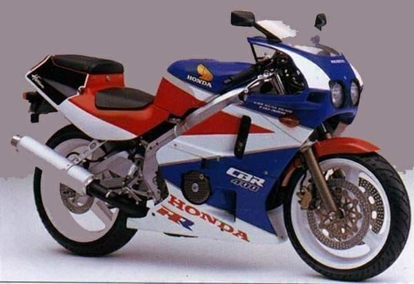 Honda CBR 400 R manual taller despiece en pdf