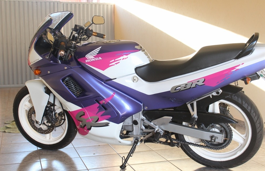 Honda CBR 450 SR manual taller