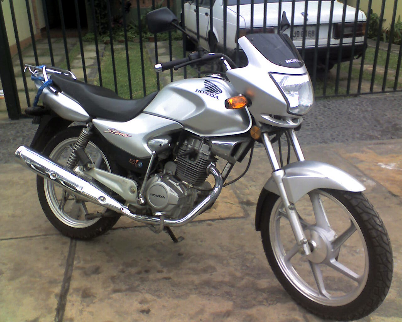 Honda Storm SDH 125 manual taller despiece