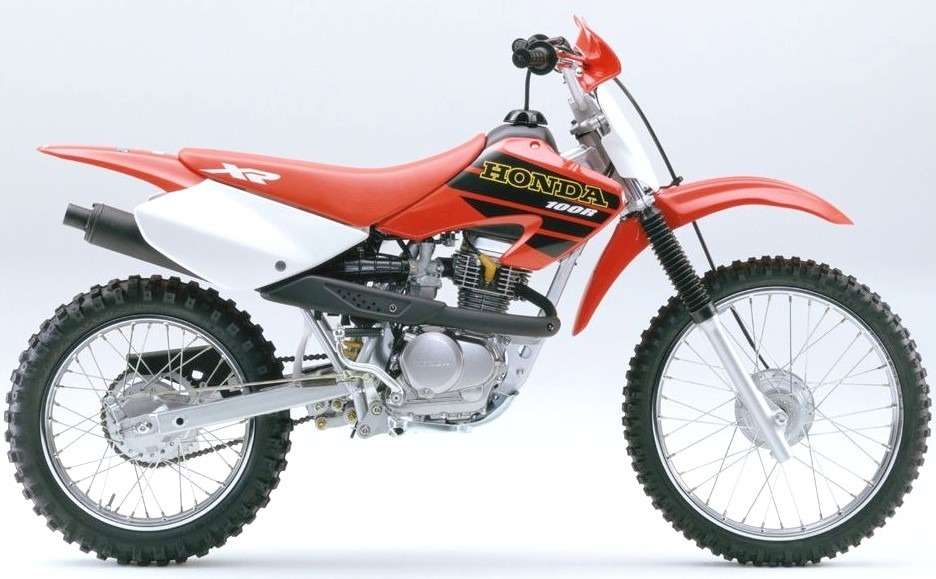 Honda XR 100 - XR 80 manual taller en pdf