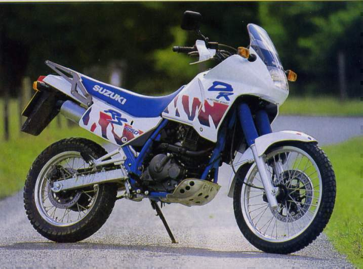 Suzuki DR 650 - Suzuki DR 600 manual taller