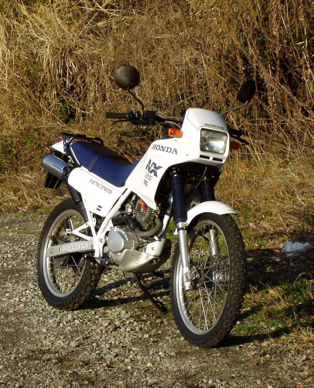 Honda NX 125 - NX 150 - NX 200 manual mecánica