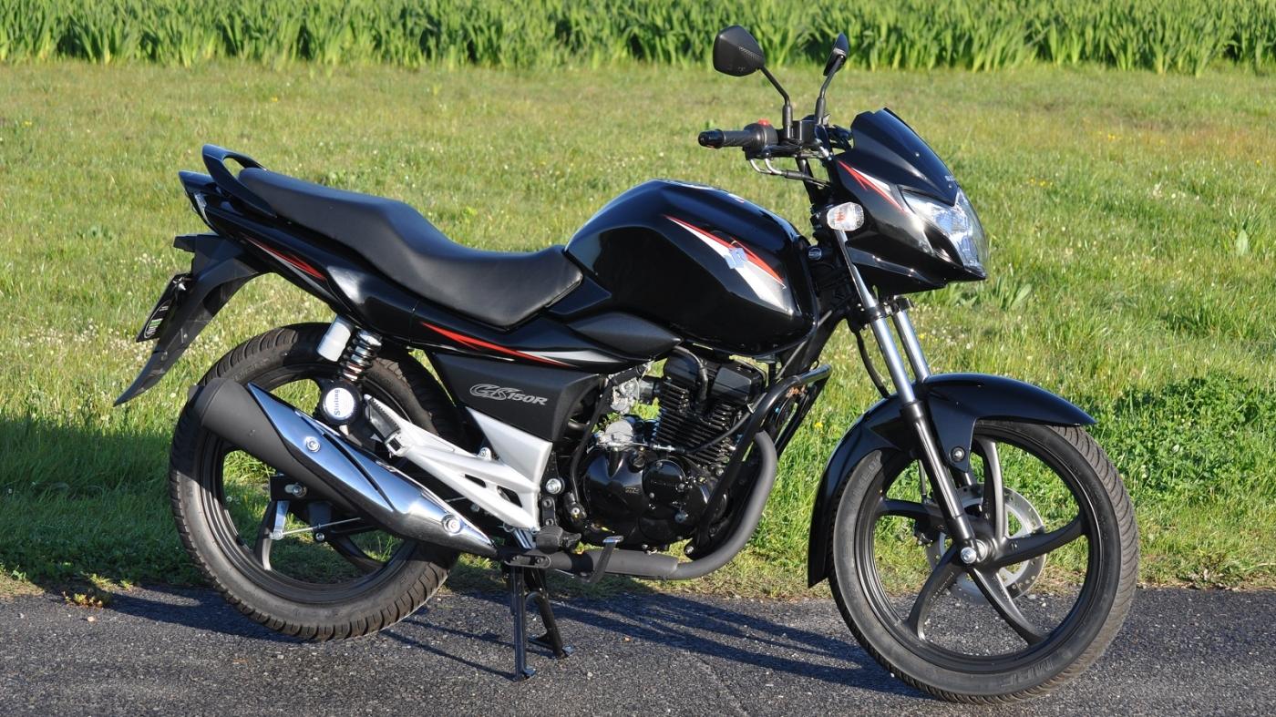 Suzuki GS150 R manual mecánica