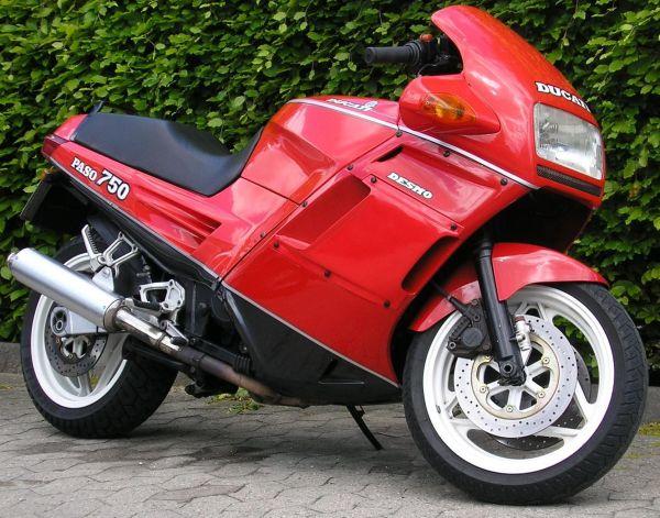 Ducati Paso 750 manual taller
