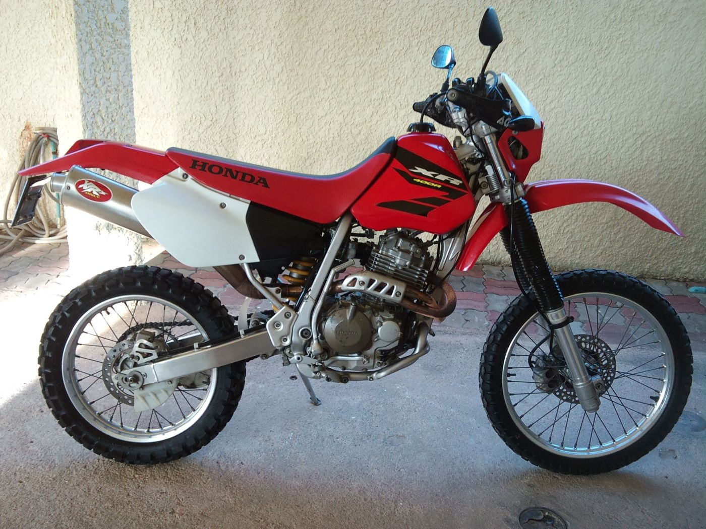 Honda XR 400 manual de reparación
