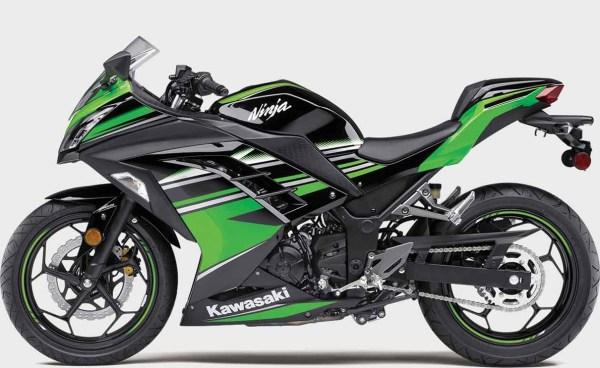 Kawasaki EX 300 ninja Honda Rebel 500 manual de reparación - despiece