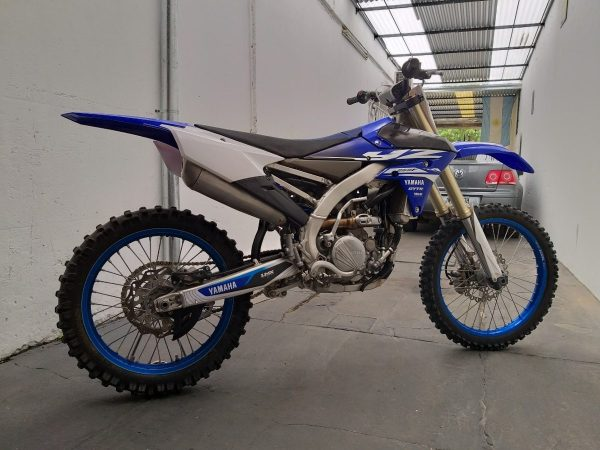 yamaha YZ 250 F manual taller