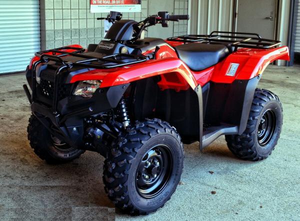 Honda FourTrax Rancher TRX 420 manual de reparación